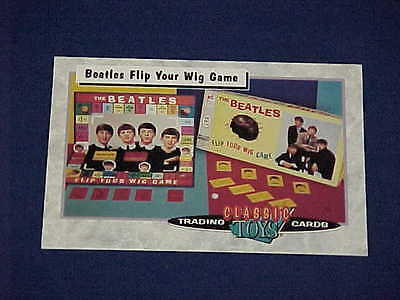 Classic Toys Trading Cards Beatles Flip Your Wig Game