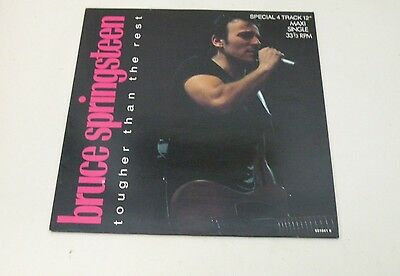 "BRUCE SPRINGSTEEN - Tougher Than The Rest - SPECIAL 12"" MAXI SINGLE 33 RPM 1987"
