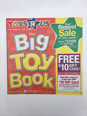Toys R Us 2005 The Big Toy Book Catalog Flyer Biggest Sale Of Year Free Shipping