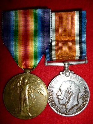 WW1 Bi-lingual Victory Medal Pair to South Africa Service Corps, with Papers