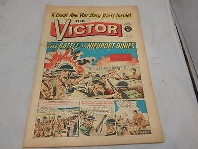 THE VICTOR COMIC No 323 ~ Apr 29th 1967 ~ The Battle Of Nieuport Dunes