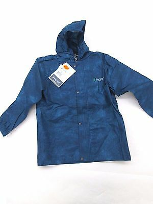 Frogg Toggs Polly Woggs Kids Rain Suit Blue Black Size Large NWT