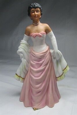 Homco Lady in Pink Dress Figurine #1435