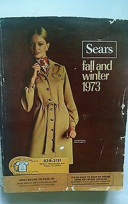 Vintage Sears Catalog 1973 Fall and Winter