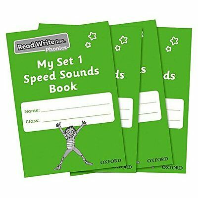 Read Write Inc. Phonics: My Set 1 Speed Sounds Book Pac - Unknown Binding NEW Ru