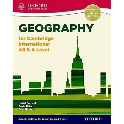 Geography for Cambridge International AS & A Level Stud - Paperback NEW Muriel F