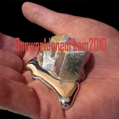 50 grams (1.76 oz ) Pure Gallium Metal 99.995% Purity Sample Rare Earth Specimen