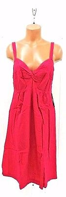 Jules And Jim Womens Pink Maternity Summer Dress Size M NWT Retail $110