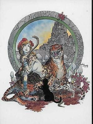 Michael Kaluta Fantasy Art Komplettes Trading Cards Set