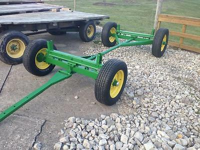 John Deere 963 Running Gears        Flat Bed Hay Wagon Gravity Bed Hopper Seed