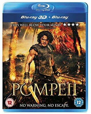 Pompeii [Blu-ray 3D + Blu-ray] [2014] - DVD  WYVG The Cheap Fast Free Post