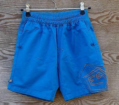 E9 B Doblone Kids, Shorts for Kids/Youth, Climbing Shorts, cobalt blue