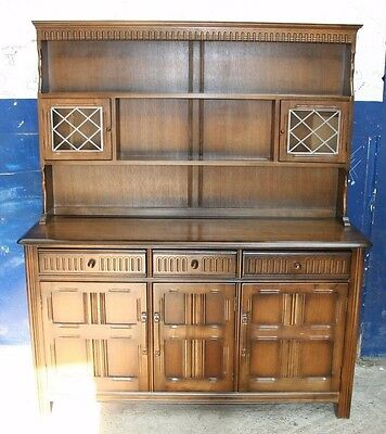 ~ Stunning ~Quality ~Priory ~Oak ~Reproduction ~Welsh Dresser~ VGC~