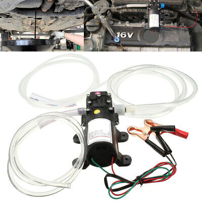 DC 12V 5L Car Boat Oil Fluid Extractor Transfer Pump Scavenge Suction Vacuum New