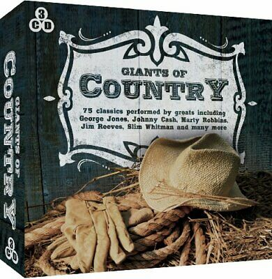 Giants Of Country - Various CD 1UVG The Cheap Fast Free Post The Cheap Fast Free