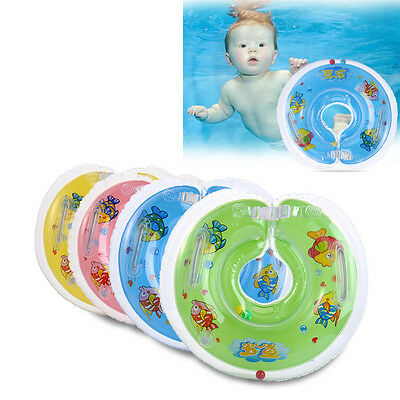 2017 PVC Safe Swimming Ring for Baby Bath Neck Float Mother-child Play Swim Ring
