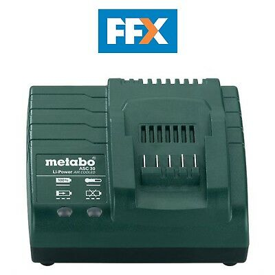Metabo 627045000 ASC 30 Minute Diagnostic Air Cooled Battery Charger 240V