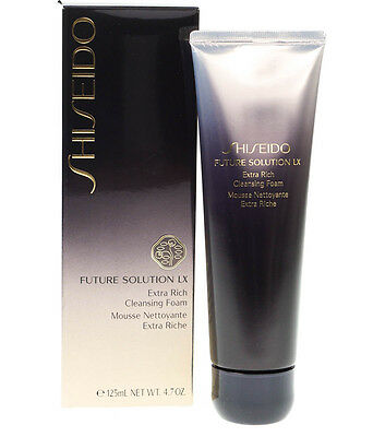 Shiseido Future Solution LX Extra Rich Cleansing Foam 125ml Cleanser - RRP £65