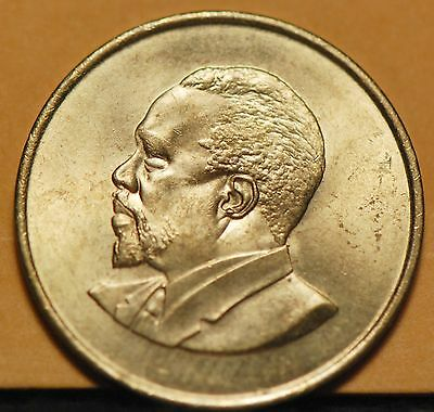 Kenya, 1966 5 Cents, Brilliant Uncirculated                                 8ngn