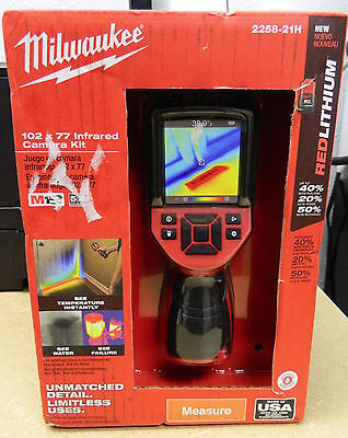 Milwaukee M12 12V Lithium-Ion Cordless 102 x 77 Infrared Camera 2258-21H - NEW