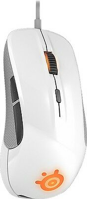STEELSERIES Maus weiß Rival 300 Gaming Mouse, white