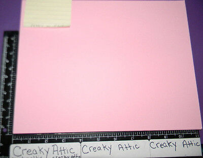 Stampin Up Pretty In Pink 16>>> Sheets Cardstock Paper 8 1/2 X 11 Retired