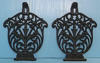 Antique Primitive Cast Iron Wood Cook Stove Trivet