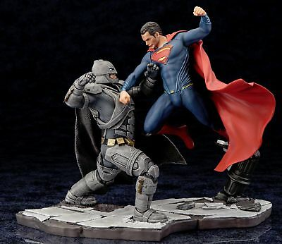 KotoBukiya BATMAN v SUPERMAN DAWN OF JUSTICE MOVIE ARTFX+ STATUE 2 Piece Set