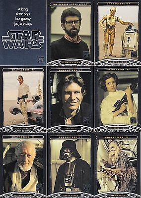 Star Wars 30Th Anniversary 2007 Topps Complete Base Card Set Of 120