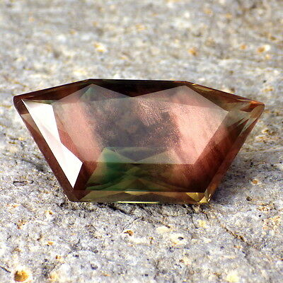 CHROME GREEN-TEAL DICHROIC SCHILLER OREGON SUNSTONE 16.40Ct FLAWLESS-TOP INVEST.
