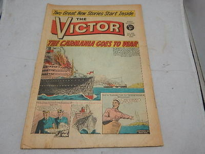 THE VICTOR COMIC No 225 ~ June 12th 1965 ~ The Carmania Goes To War