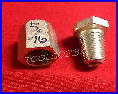 """Safe-Line Clamp F/ 5/16"""" Wire Rope Cable Fitting Cadmium Finish For Making Loops"""