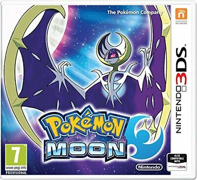 Pok�mon Moon (Nintendo 3DS) - Game  0SVG The Cheap Fast Free Post