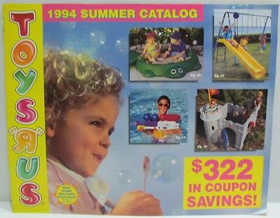 Toys 'R Us Toy Catalog Summer 1994