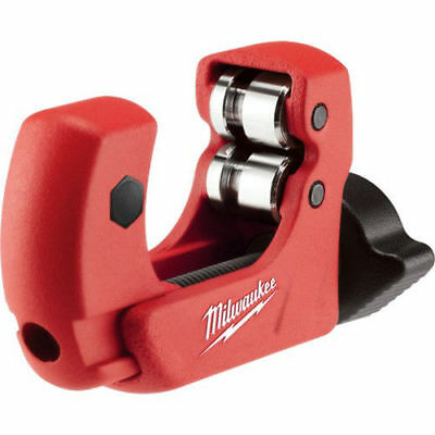 Milwaukee 48224251 1 in. Mini Copper Tubing Cutter with Extra Blade New