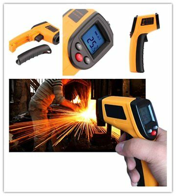 3x Non-Contact IR Laser Infrared Digital Temperature Gun Thermometer Battery HT