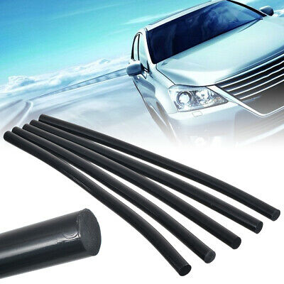 5x Hot Melt Glue Sticks Car Body Paintless Dent Repair Puller Tool Black Kit