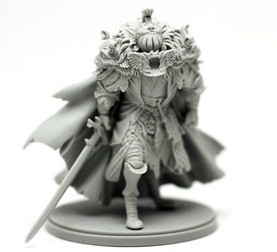 █ 54mm Resin KD Black Knight Unpainted Unassembled ONLY Figure WH095
