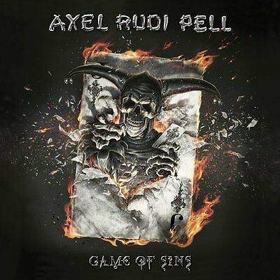 Axel Rudi Pell-Game Of Sins (2Lp+Cd)  Vinyl New