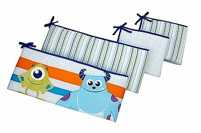Disney Monsters at Play Monsters Inc Traditional Secure Me Crib Bumper Set