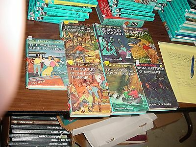 Seven Old Version Hardy Boys Books