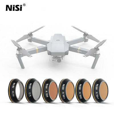 NiSi Filter Kit For DJI Mavic Pro Drones 6Pcs Set UK