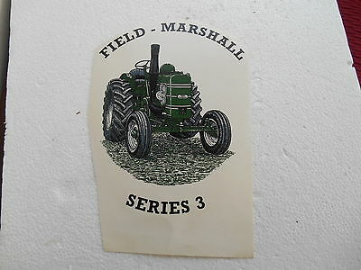 """1990s  5""""  SMOOTH SURFACE WATER TRANSFER OF FIELD MARSHALL SERIES 3"""