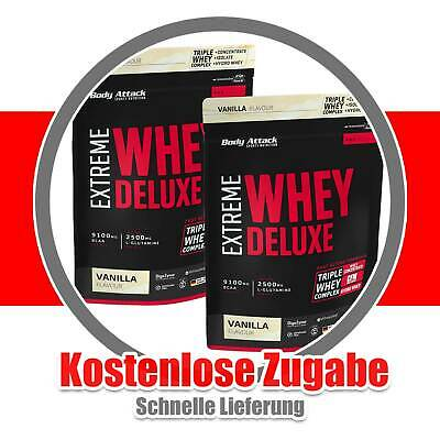 (20,83€/kg) Body Attack Extreme Whey Deluxe - 2300g - Protein, Whey Isolat,  Z3