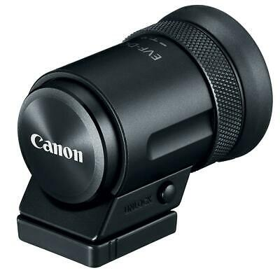Canon EVF-DC2 Electronic Viewfinder for EOS M6/M3 and PowerShot Camera, Black