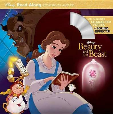 Beauty and the Beast Read-Along Storybook and CD by Disney Book Group (English)