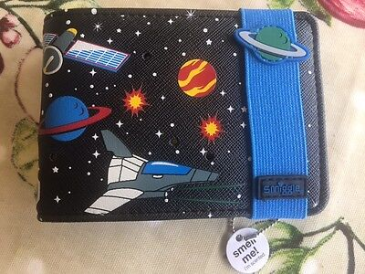 Smiggle Light Up and Scented Wallet for Boys (Space theme)