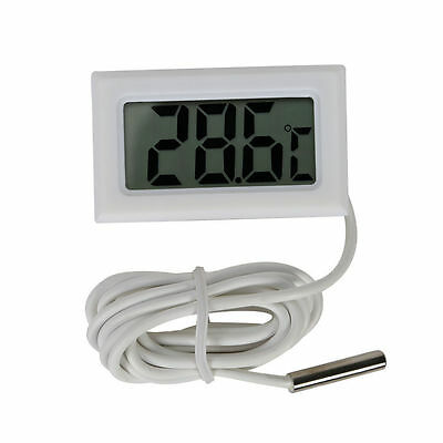 Mini Digital LCD High Temperature Thermometer Sensor With Probe Celsius HOT Sale