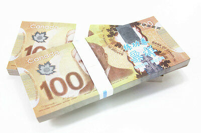 A Bundle of 100pcs Canada C$ 100 Commemorate Banknotes Paper Money Collection