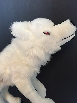 Game Of Thrones White Wolf Plush Direwolf 18 Stuffed Animal Ghost